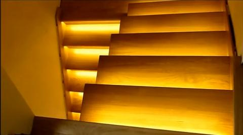 automatic led stair lighting. stair light controller reactive lighting system automatic led led a