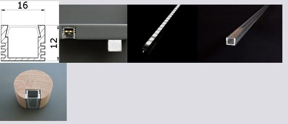 PDS4, profile | stair-lighting.com, B1718 profile, PDS4 klus profile, PDS4 channel,