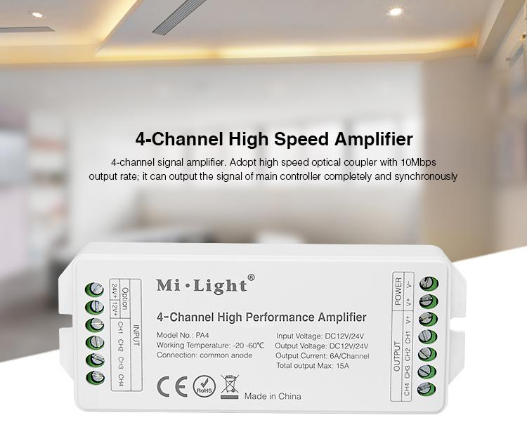 4-Channel High Performance Amplifier - PA4