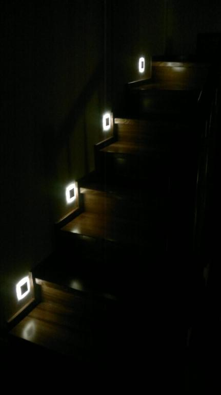oprawa schodowa LED, led fittngs, stair led fittings