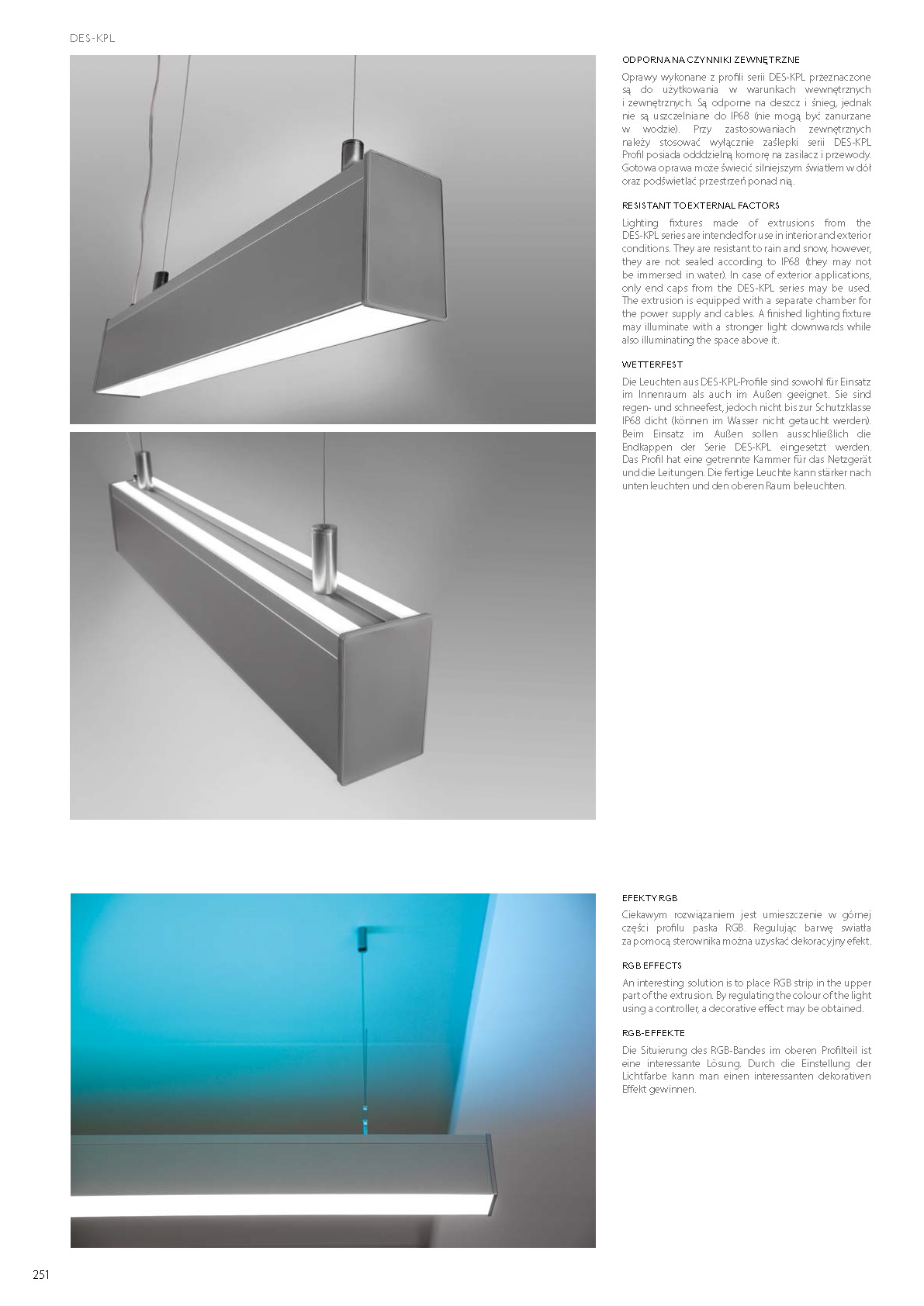 Profile LED DES with space for power supply | Stair-Lighting.com