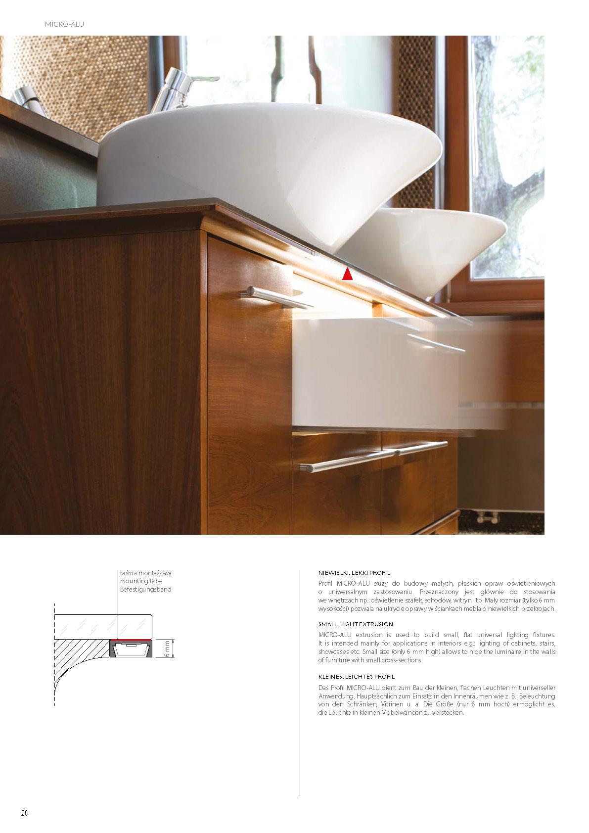 Profile Led Micro Nu Pro 8 Alu Ano Stair Lighting Com