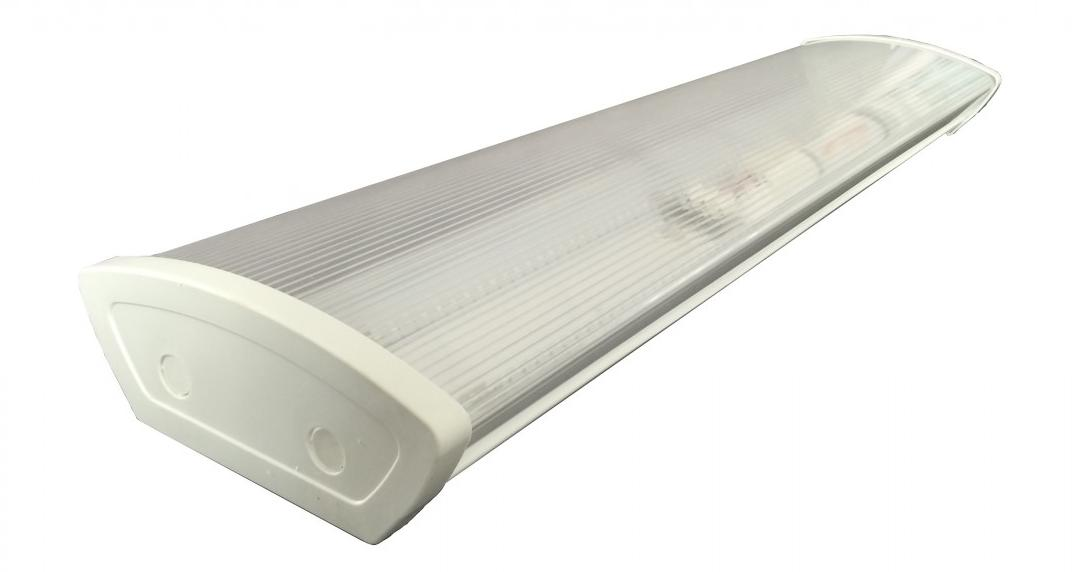 Plafoniera Led 120 Cm : Led overhead lights w cover stair lighting