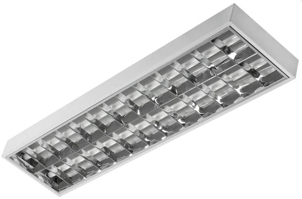 Evg Raster Luminaire 2x36w Wall Mounted Suitable For