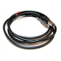 Plug - DC 2.1 x 5.5 mm - with cable