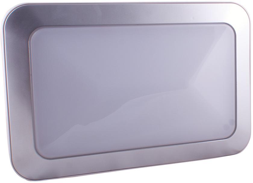 Plafoniera Led 12volt : Led luminaire w rectangle twilight sensor