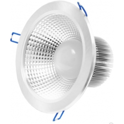 DOWNLIGHT ECO LED DEEP 18W - 4000K - neutral - silver housing
