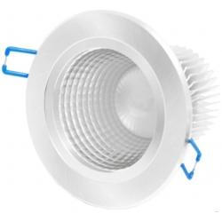 DOWNLIGHT ECO LED DEEP 9W - 4000K - neutral - silver housing