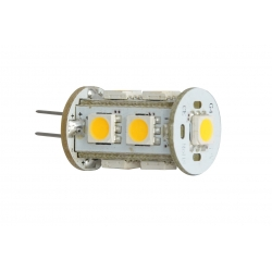 LED bulb G4 12V 1.8W x9 5050 110lm Cool White - post