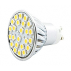 GU10 LED Bulb 230V 5050 x24 4.8W Warm White 280lm