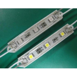 5050 LED Module 3 LEDs - Waterproof - yellow