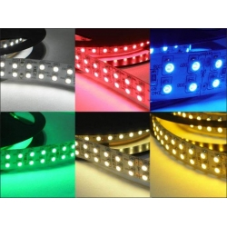 5m LED strip SMD 3528 1200 diod/5m - warm white - led strip
