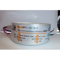 Spin-LED 12V AC - 10W - Waterproof - IP67
