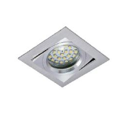 Halogen fixture, ceiling, staircase RES-8363 aluminum